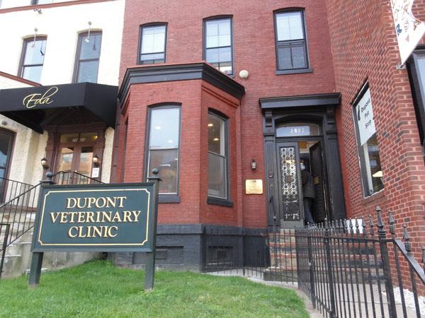 Dupont Veterinary Clinic – klinika małych zwierząt w Waszyngtonie.