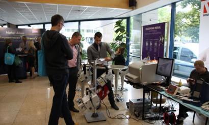 Wiele firm przyjechało do Wrocławia zaprezentować swój sprzęt.