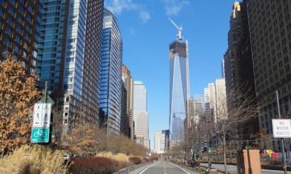 Strefa Zero na Manhattanie, Freedom Tower w budowie.