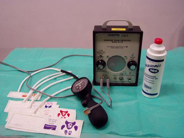 Fot. 2. Sprzęt-potrzebny-do-pomiaru-ciśnienia-metodą-Dopplera