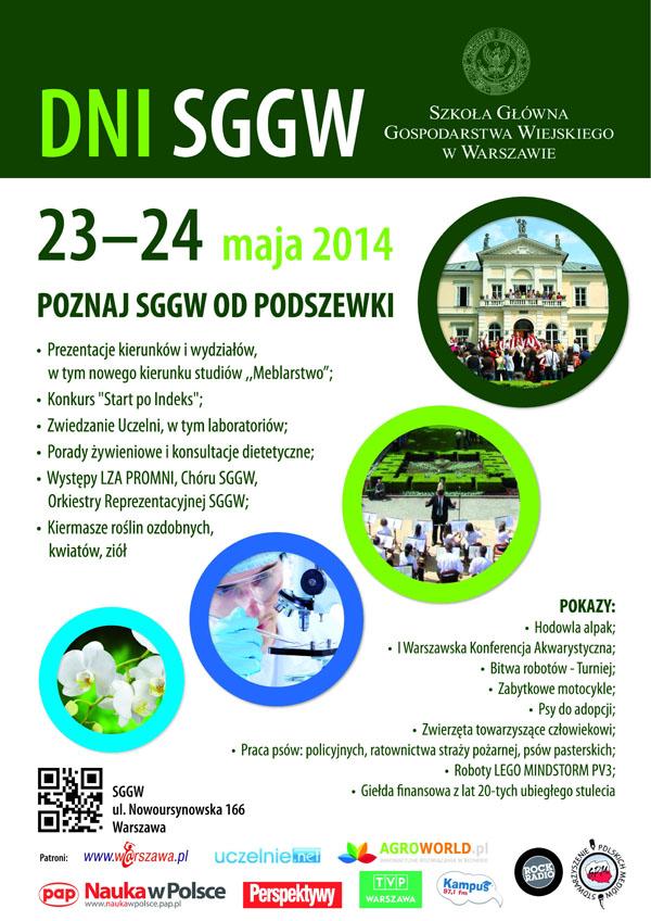 DNI_SGGW_2014_PLAKAT