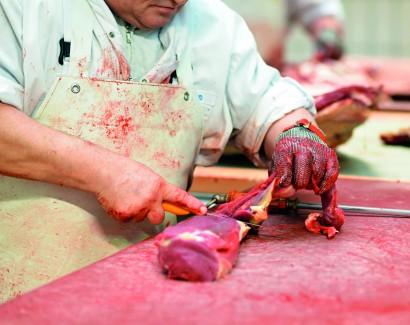 Fleischerei - industrielle Verarbeitung