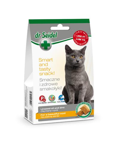 Smakołyki dr Seidla dla kotów na piękną sierść 50g