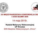 Konferencja Studenckich Kół Naukowych i Sejmik SKN
