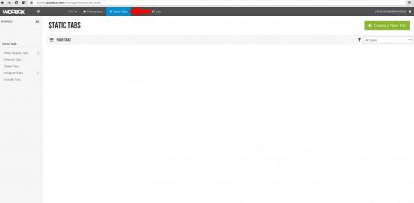 Fot. 6. Po zalogowaniu klikamy przycisk z listą zakładek na Facebooku.