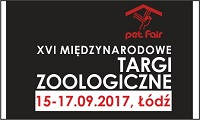 XVI MIĘDZYNARODOWE TARGI ZOOLOGICZNE PET FAIR