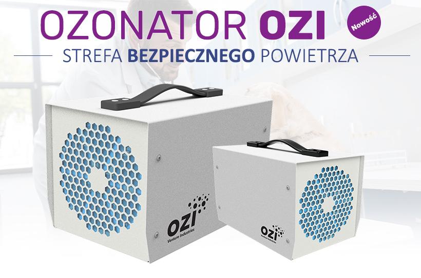 Ozonator OZI - Strefa bezpiecznego powietrza